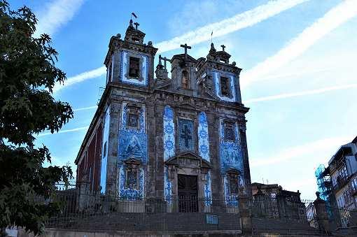 「サント・イルデフォンソ教会(Igreja Paroquial de Santo Ildefonso)」