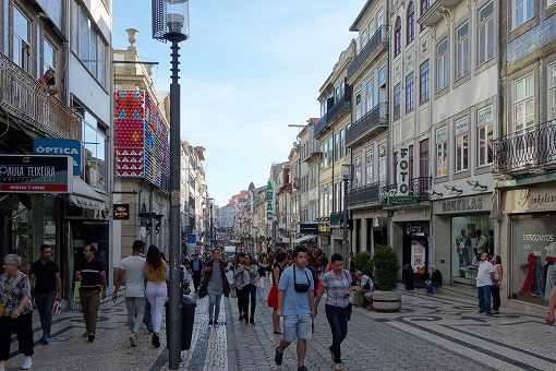 ヨーロッパらしくキレイな街並みです