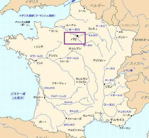 フランス全図