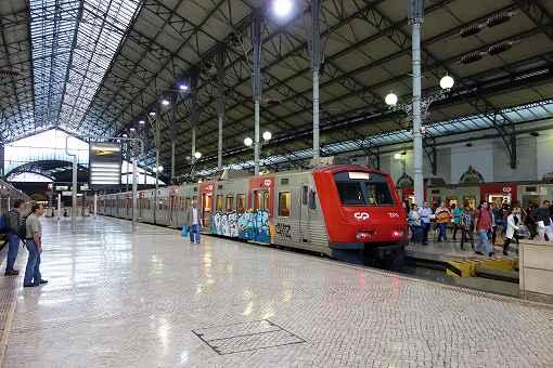 リスボンから電車