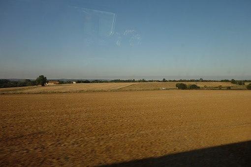 TGV車窓