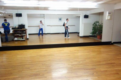 ダンススタジオのようです。