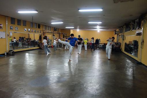 蹴りの練習2