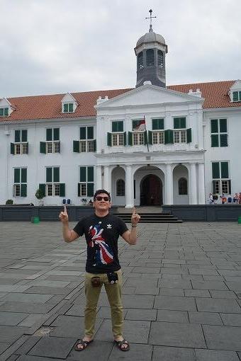 首都ジャカルタにやってきました。