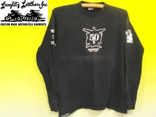 お買取り商品ラングリッツレザーズLanglitz Leahterslong tee50周年記念長袖Tシャツ