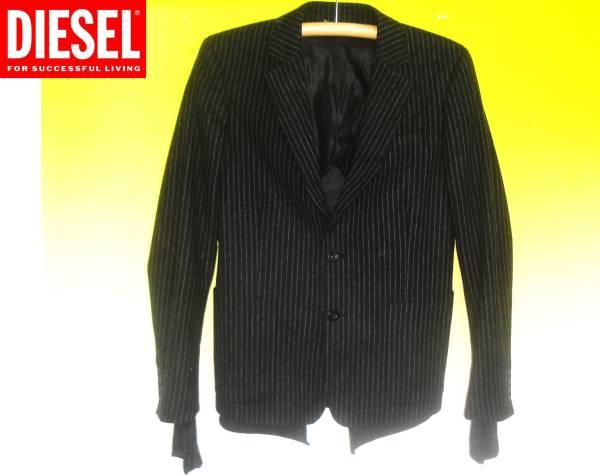お買取り商品ディーゼルDIESEL2つボタンウールテーラードジャケット 定価約8万