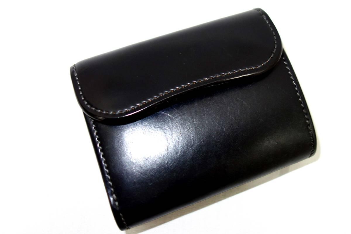 お買取り商品ワイルドスワンズWILDSWANSイーノコードバン3つ折り財布ENO