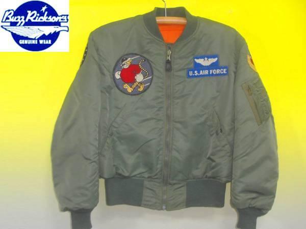 お買取商品バズリクソンズBUZZRICKSONSフライトジャケットM13789MA1第53戦闘飛行隊1962MODEL
