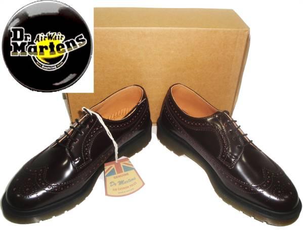お買取商品ドクターマーチンDr. Martens3989 BROGUE イングランド製 ウィングチップタイプ