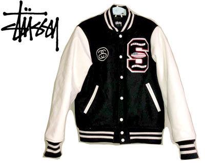 お買取り商品ステューシーSTUSSYvarsity jacket スタジャン パフィスタ