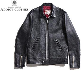 お買取商品アディクトクローズADDICT CLOTHESライダースジャケットad-01センタージップ
