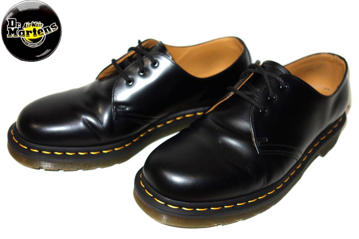 お買取商品ドクターマーチンDr. Martens美品3ホールブーツ1461UK9黒 28cm