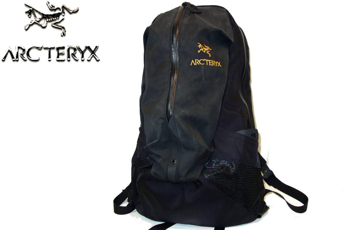 お買取り商品アークテリクスARC'TERYX美品バックパックアローARRO22リュックサック黒
