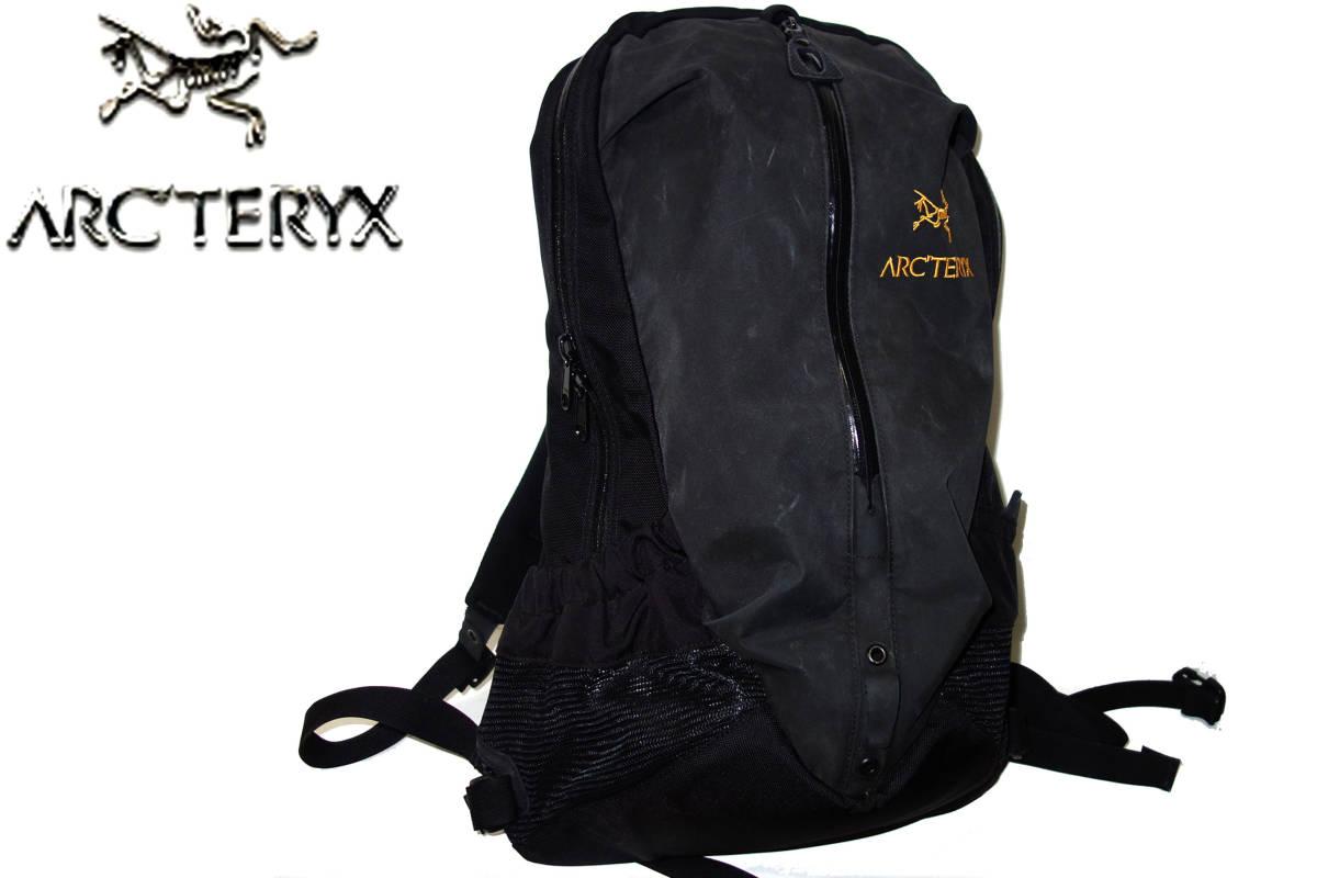 お買取り商品アークテリクスARC'TERYXバックパックアローARRO22リュックサック黒