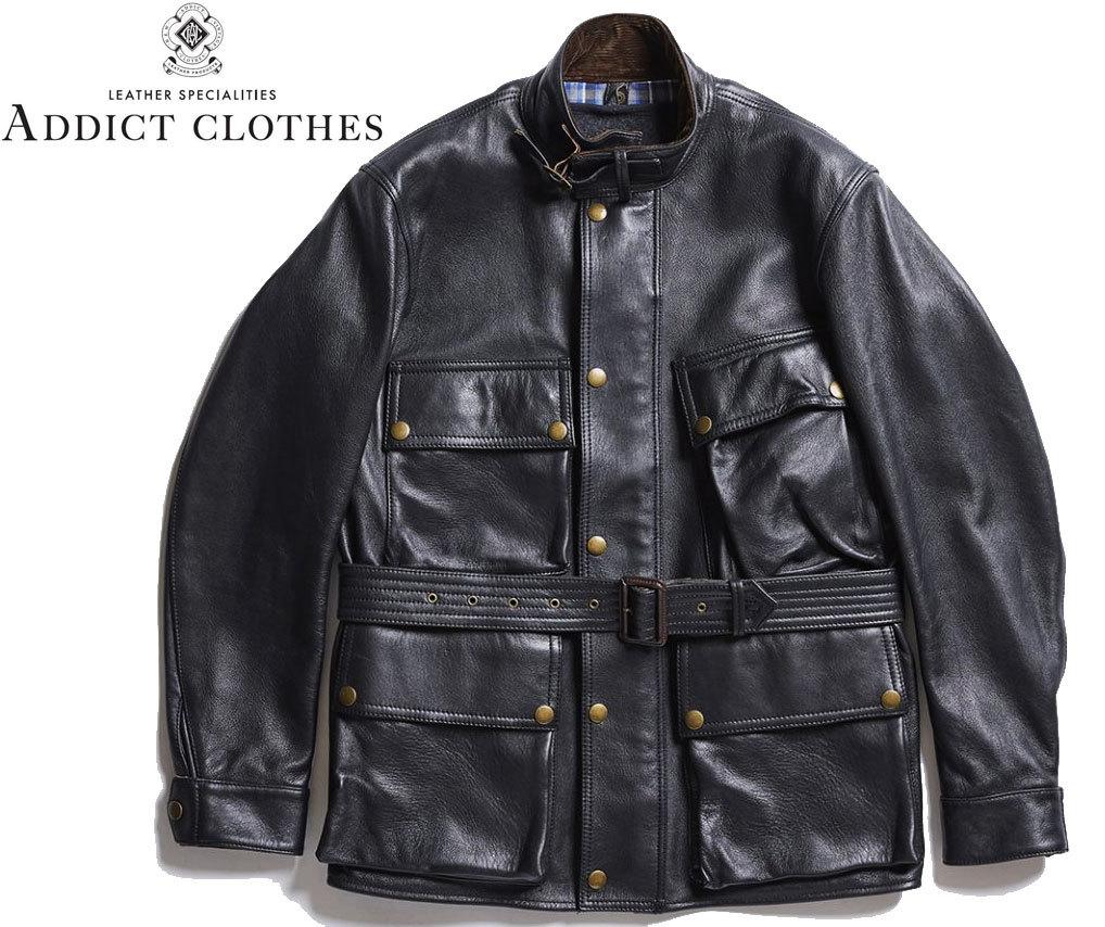 お買取商品アディクトクローズADDICT CLOTHESライダースジャケットbmc-jacket