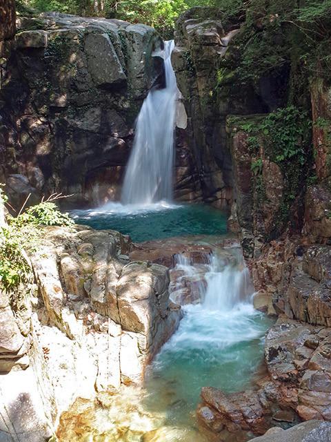 夕森竜神の滝03