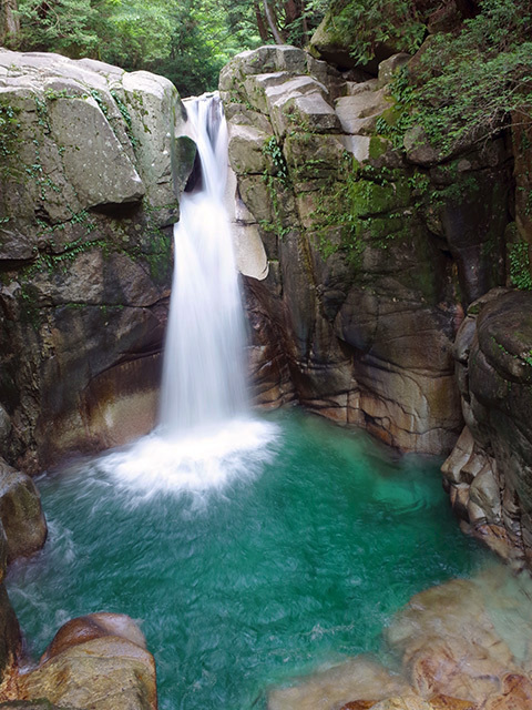 夕森竜神の滝04
