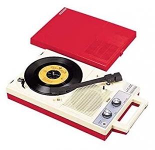 ラジオ付きレコードプレーヤー