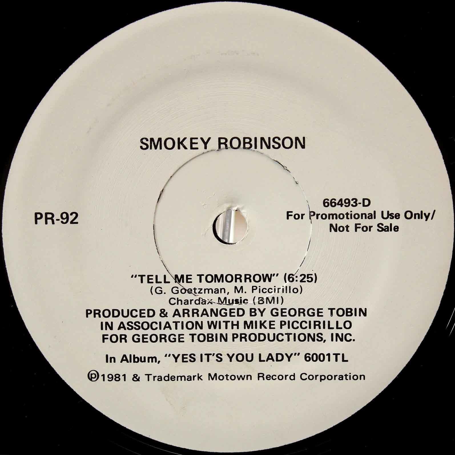 Smokey Robinson Tell Me Tomorrow 02