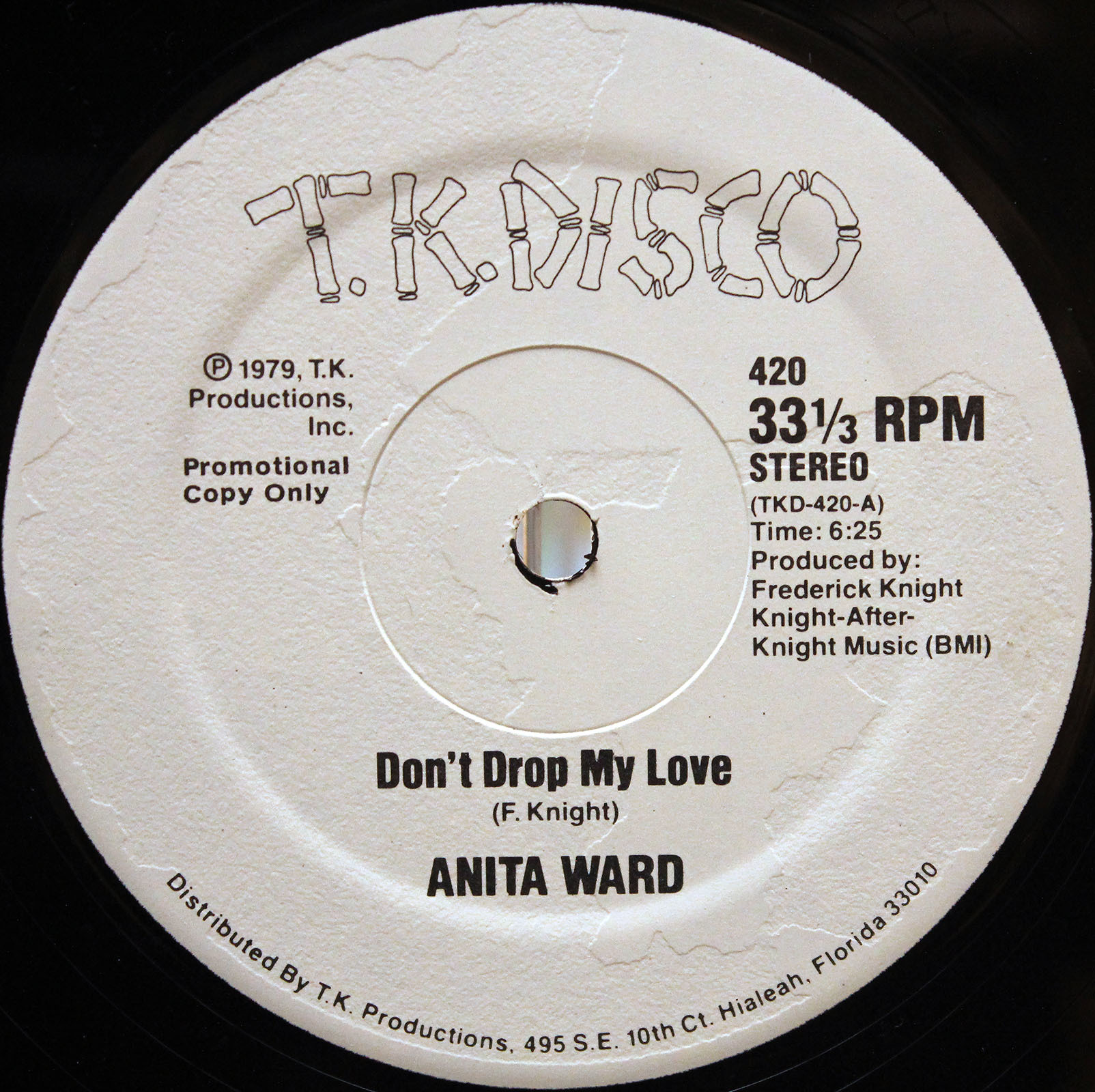 Anita Ward ‎– Dont Drop My Love 03
