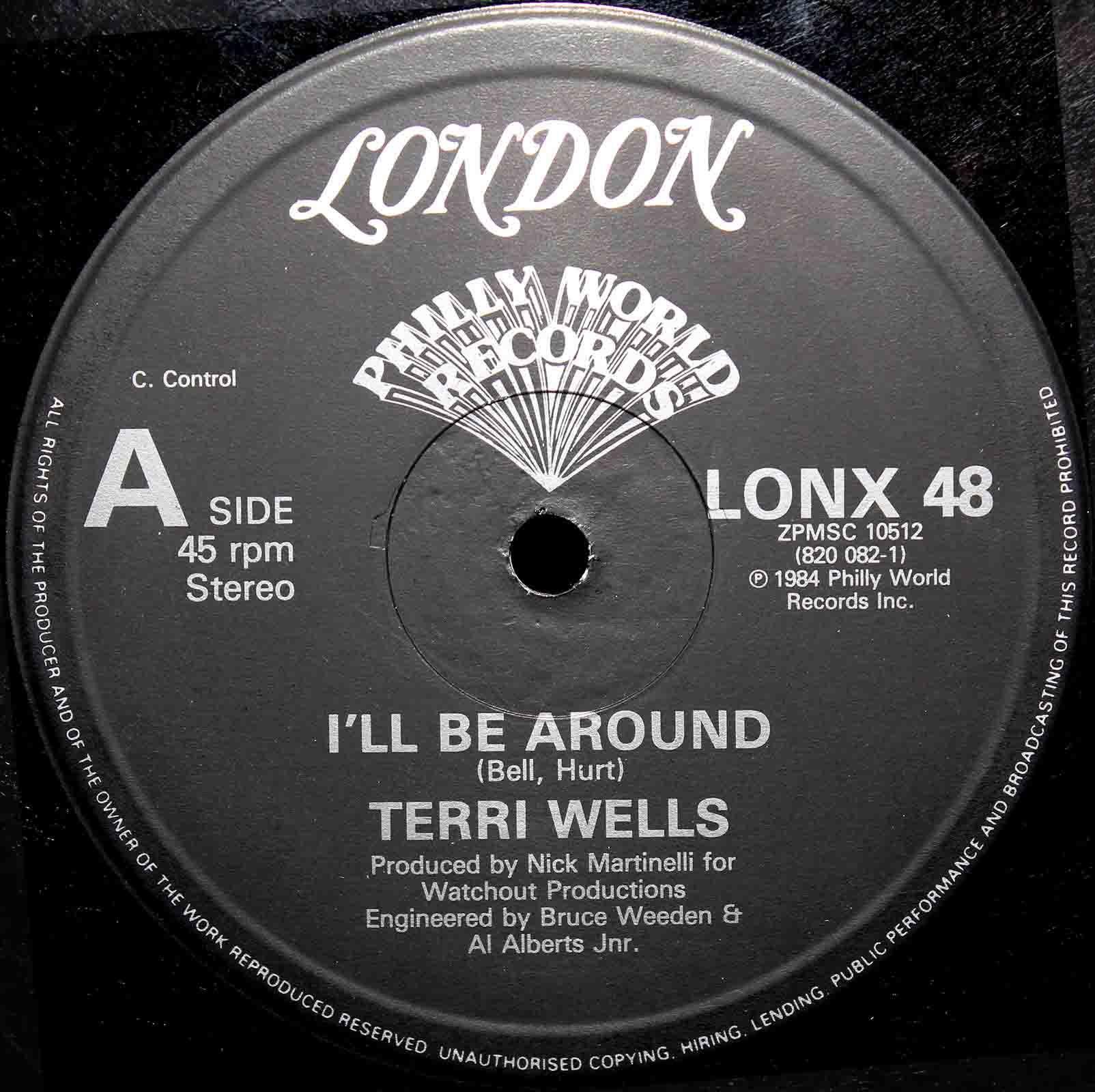 Terri Wells  Ill Be Around 03