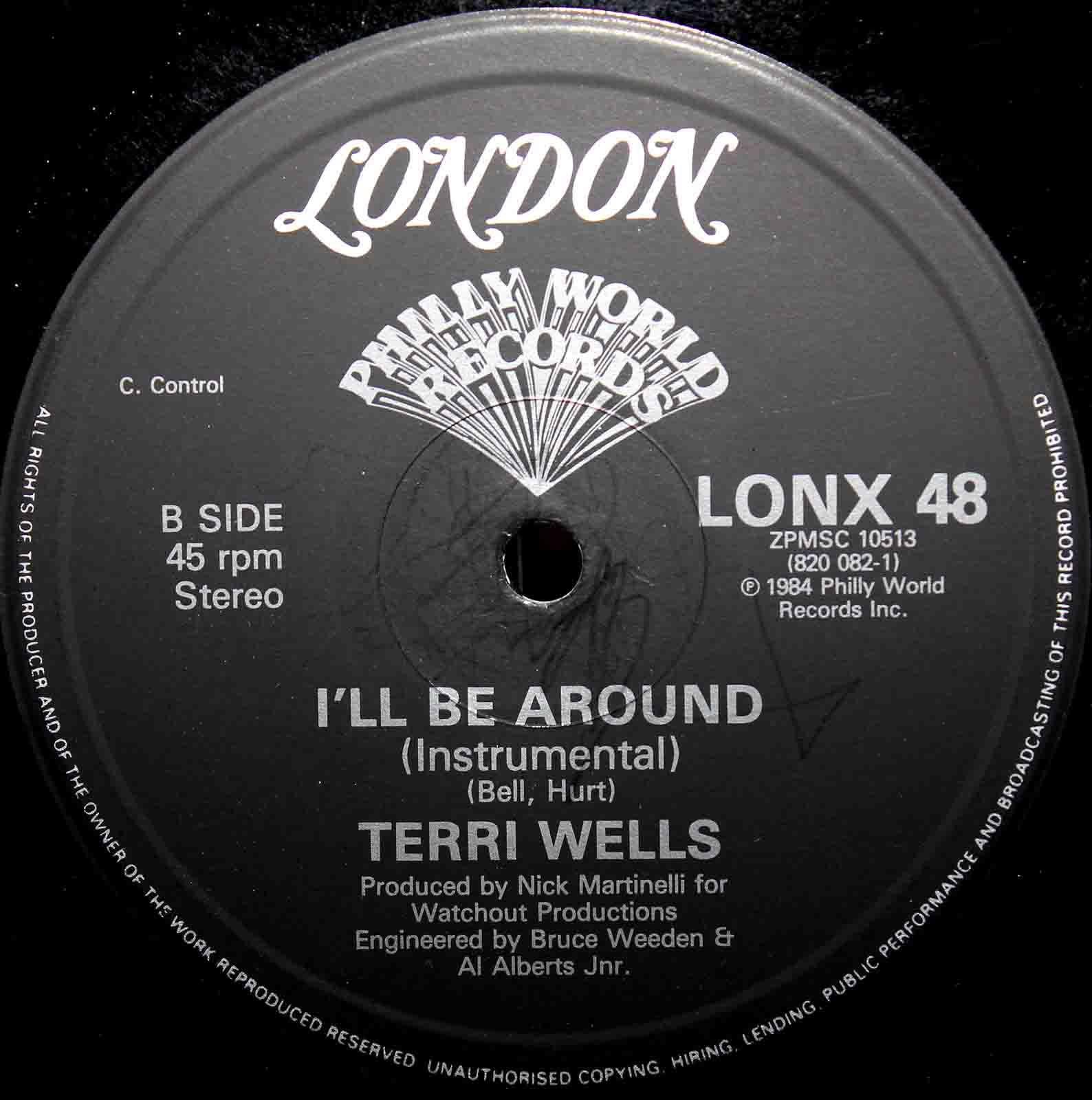 Terri Wells  Ill Be Around 04