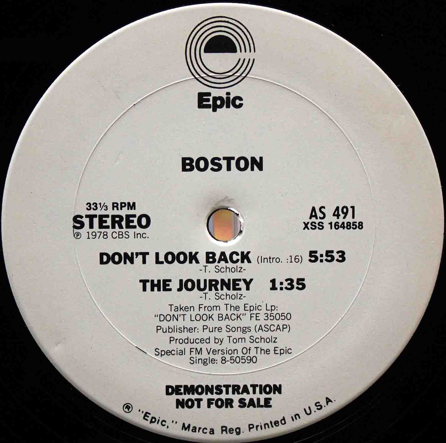 Boston – Dont Look Back 04