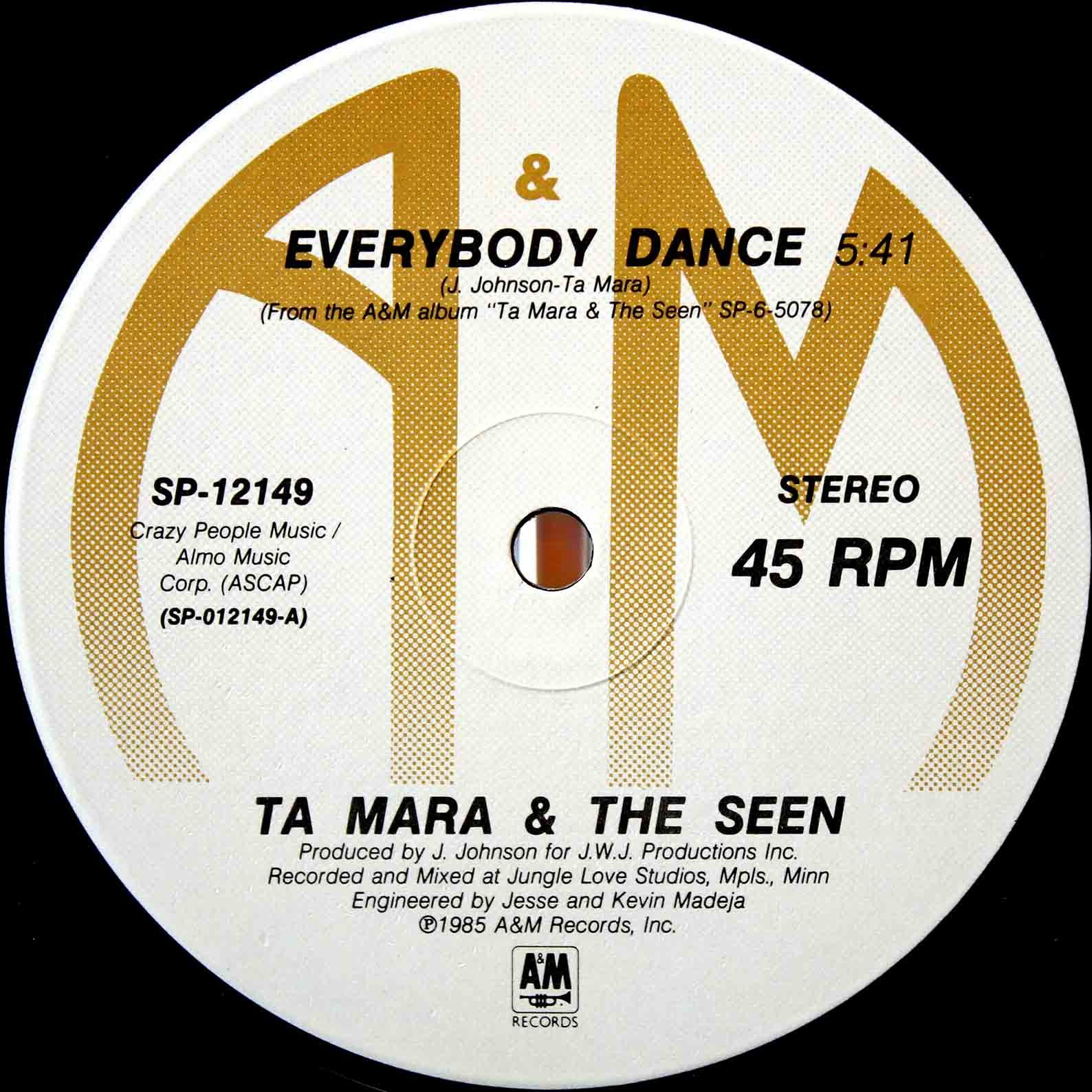 Ta Mara The Seen ‎– Everybody Dance 03