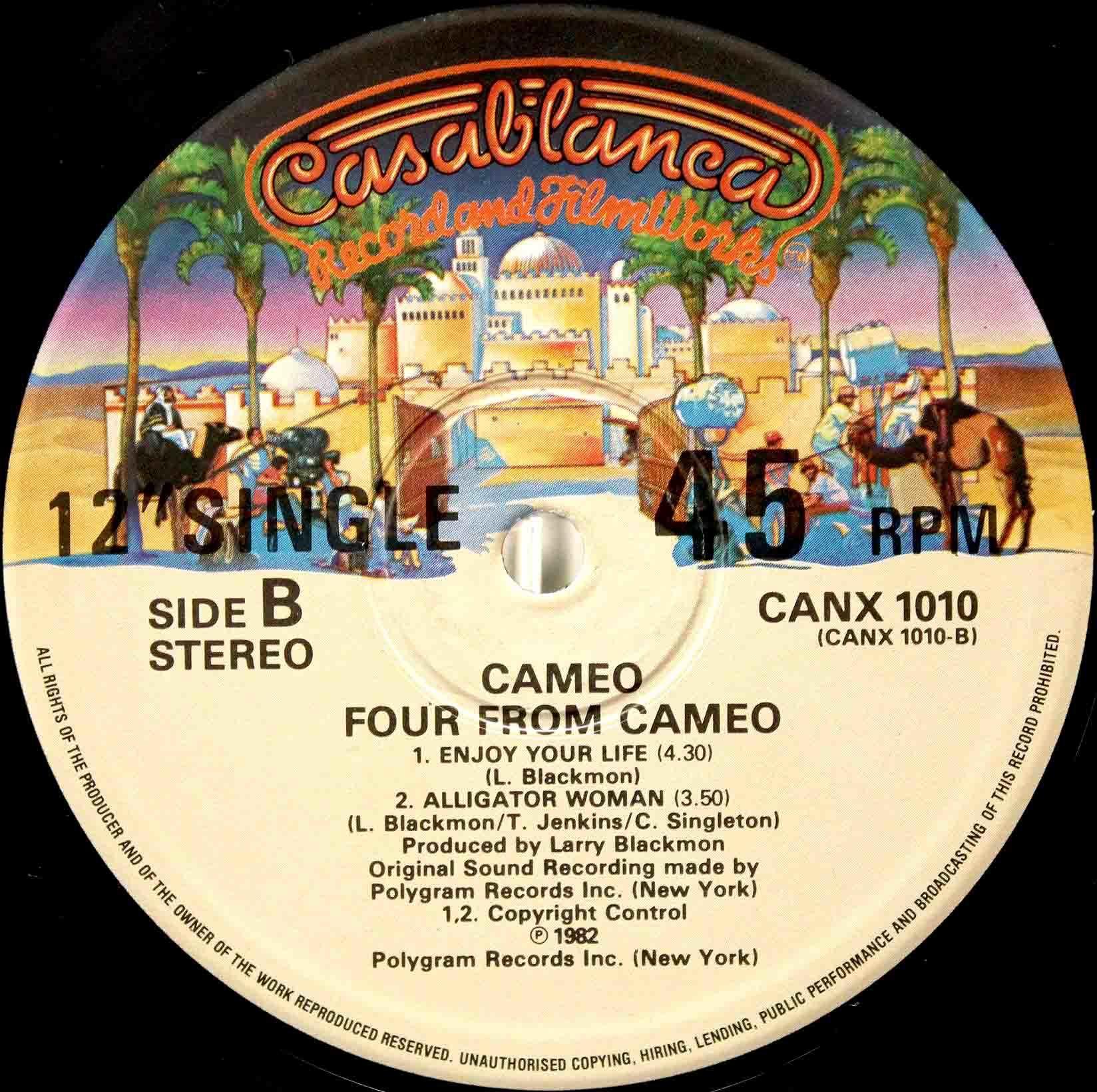 Cameo Enjoy Your Life 02