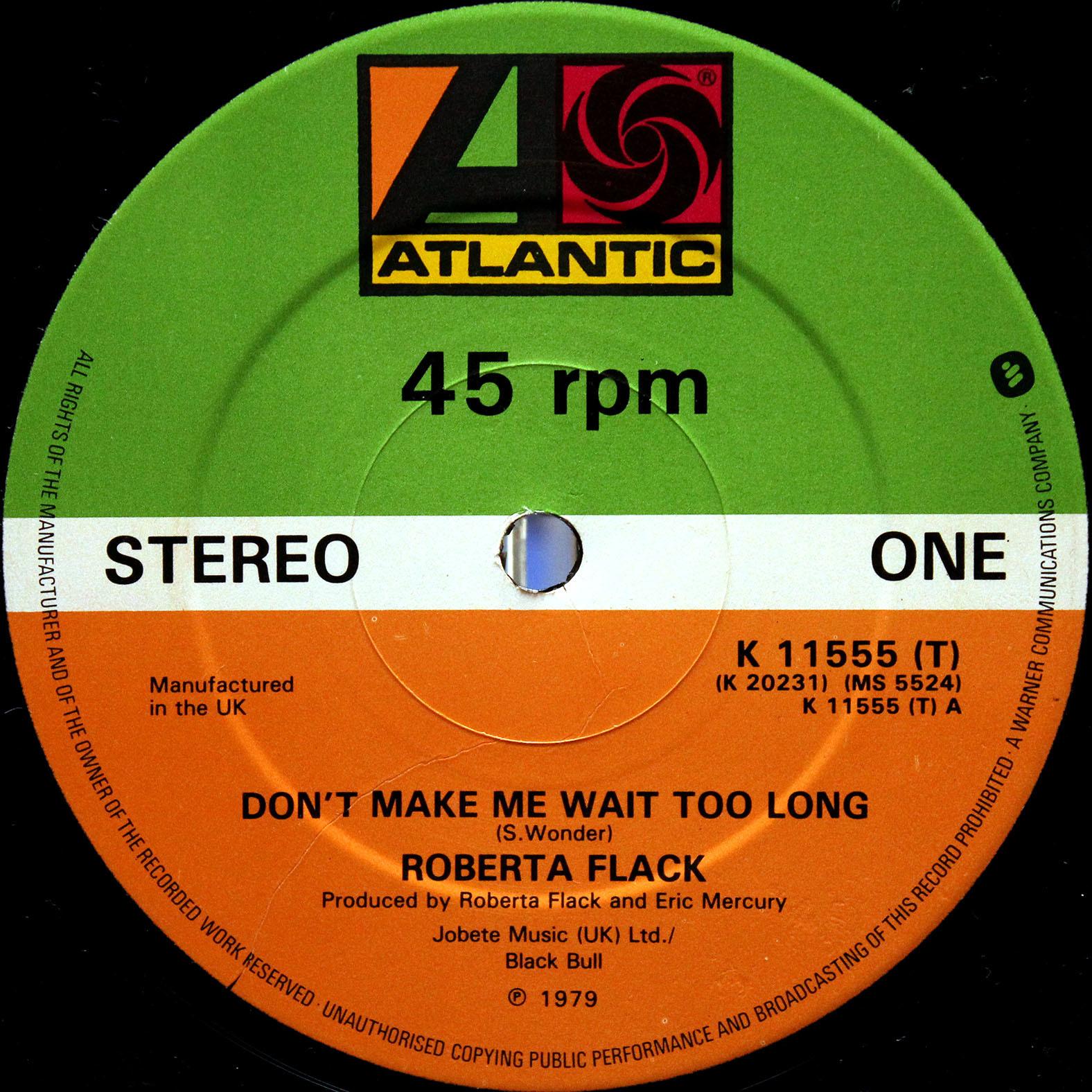 Roberta Flack – Dont Make Me Wait Too Long 03