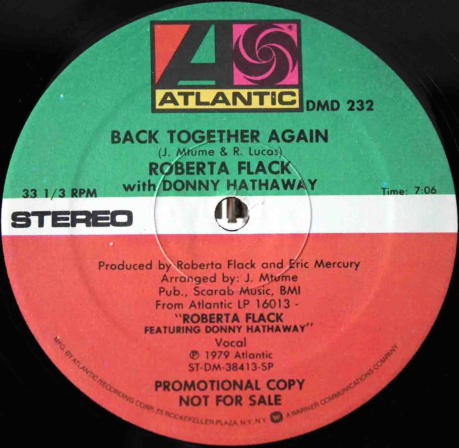 Roberta Flack ‎– Back Together Again 03