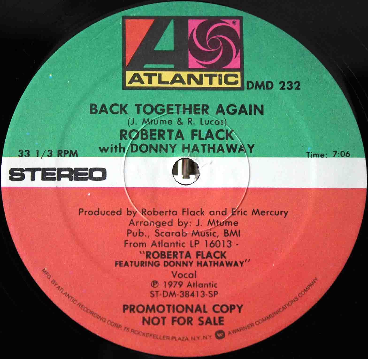 Roberta Flack ‎– Back Together Again 04