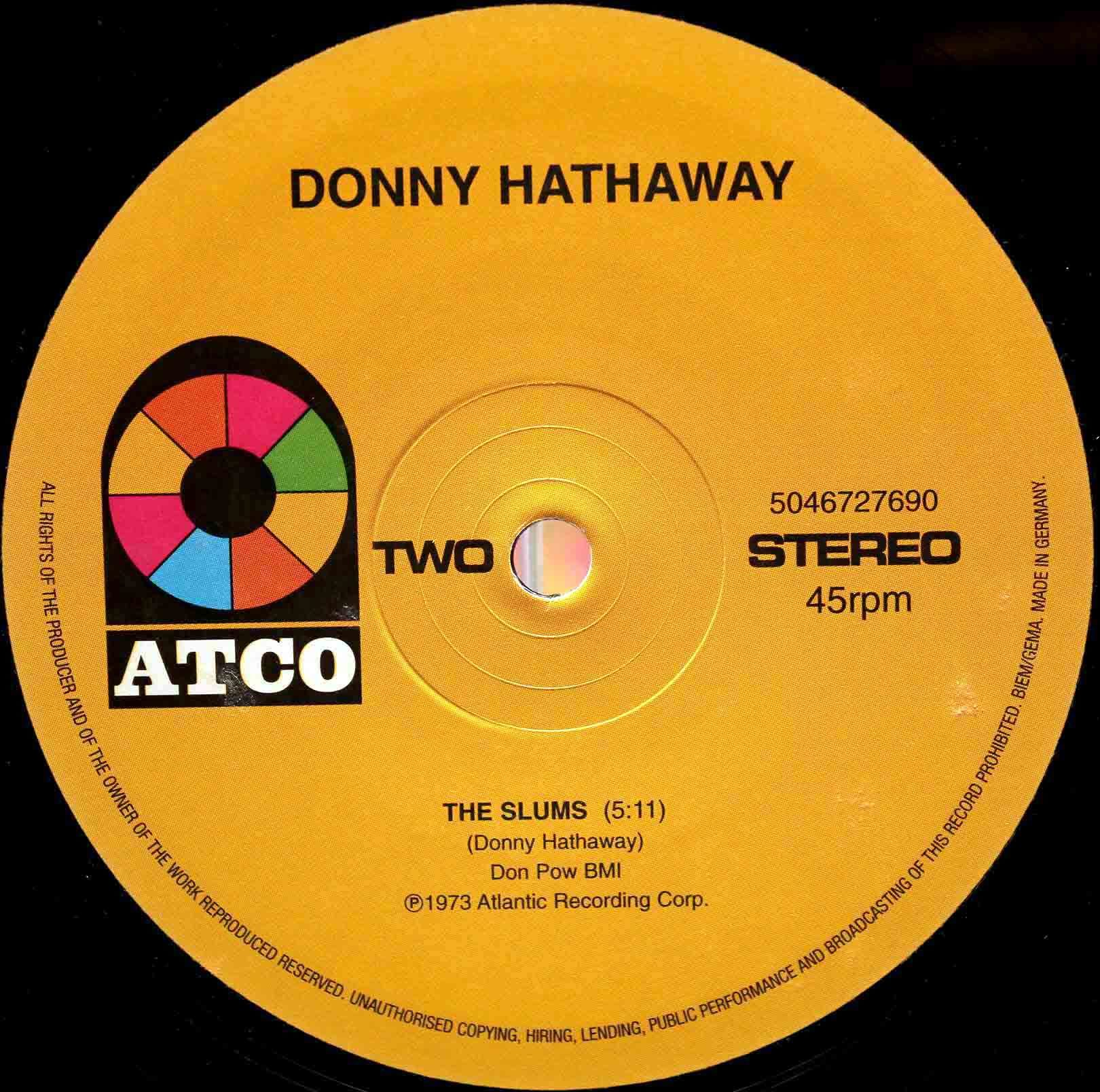 Donny Hathaway ‎– The Slums 04