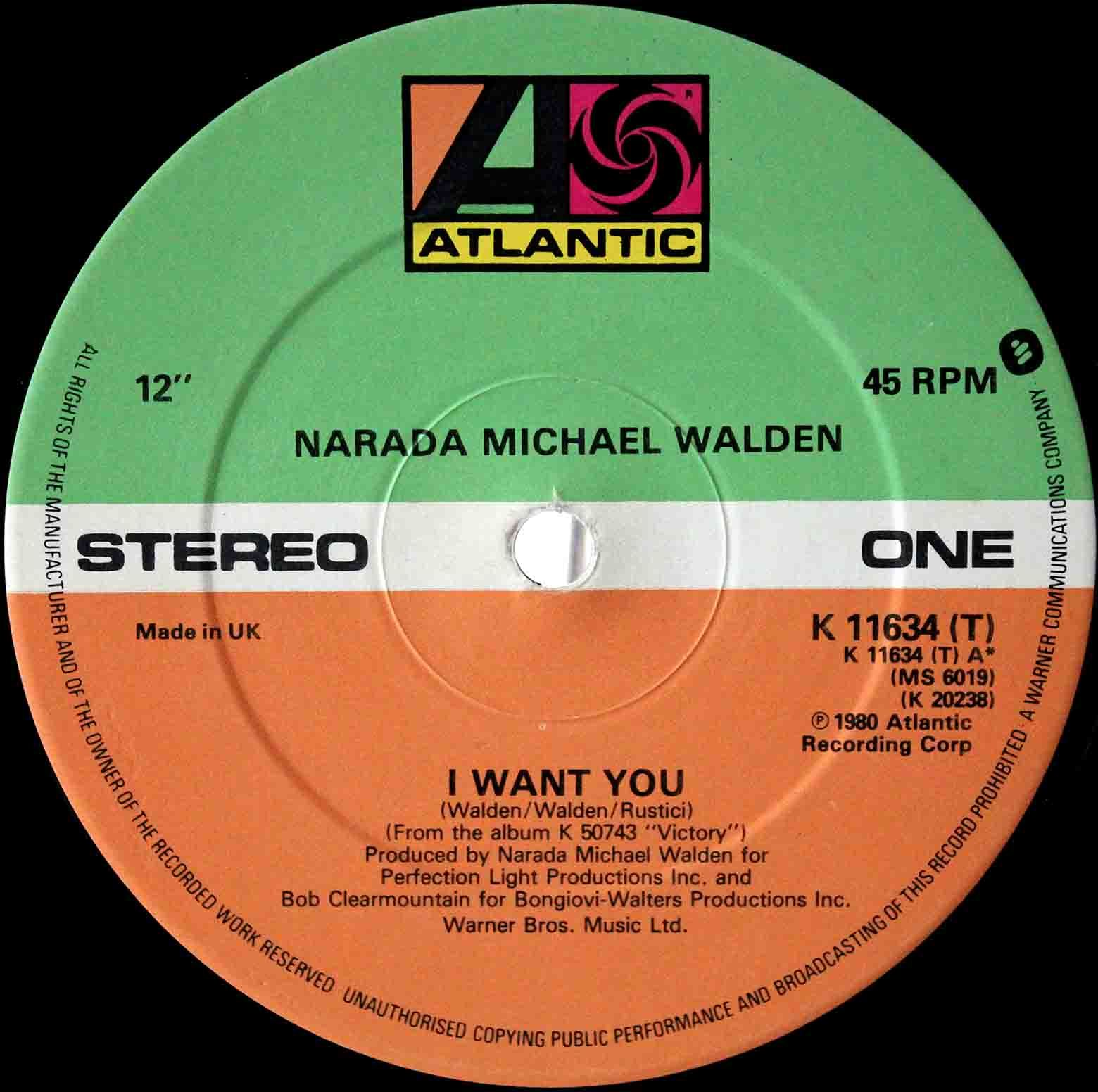 Narada Michael Walden ‎– I Want You 02