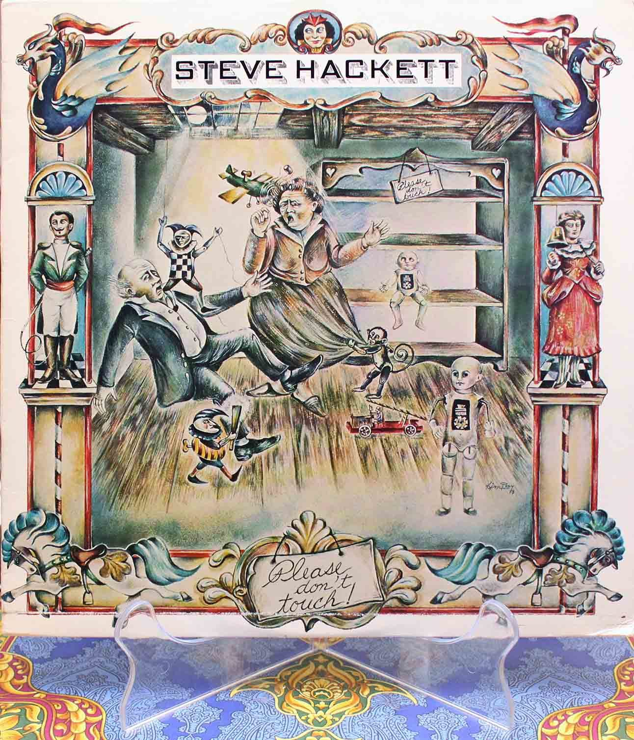 Steve Hackett ‎– Please Dont Touch 01