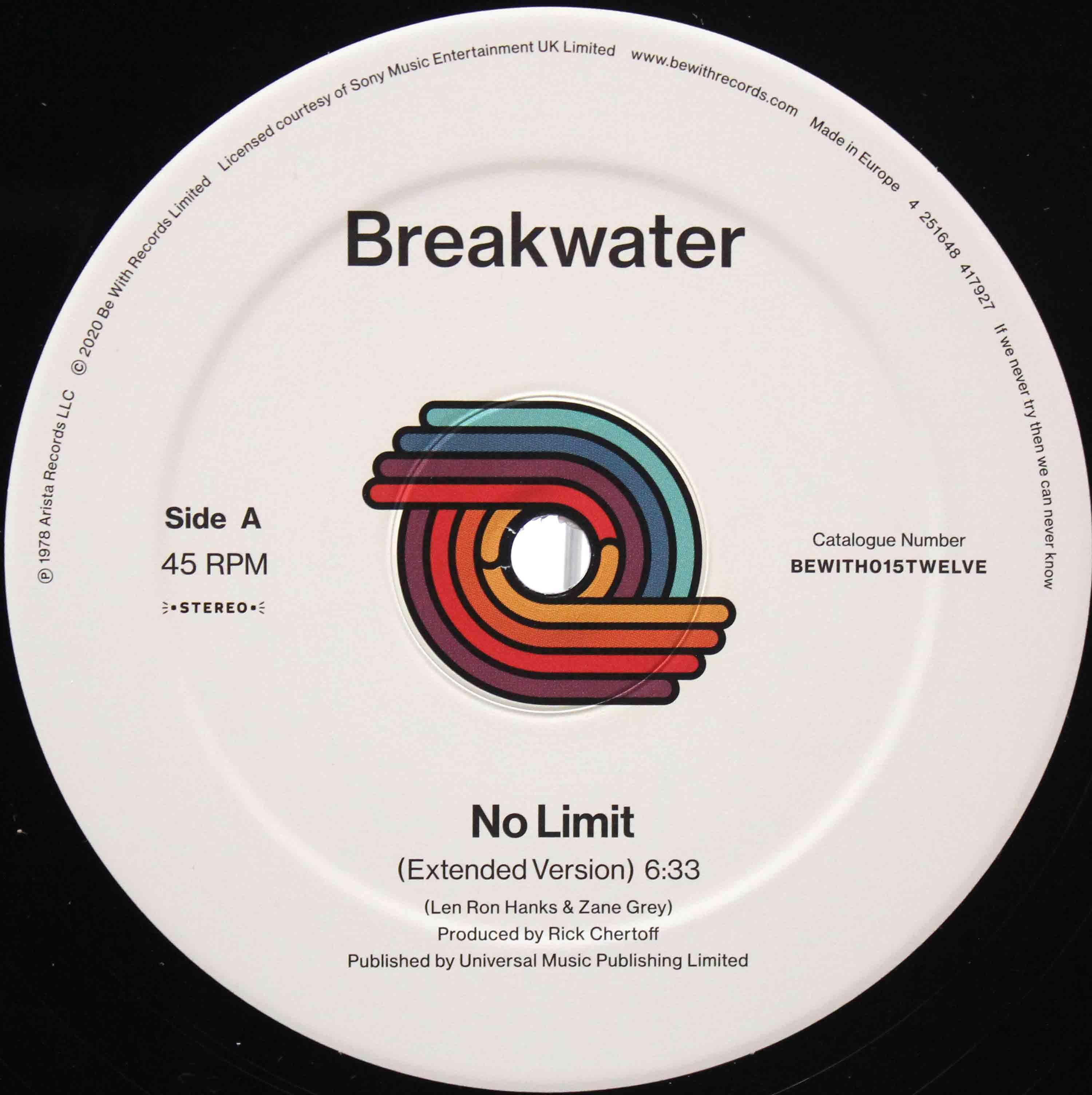 Breakwater - No limit Reisuee UK 03