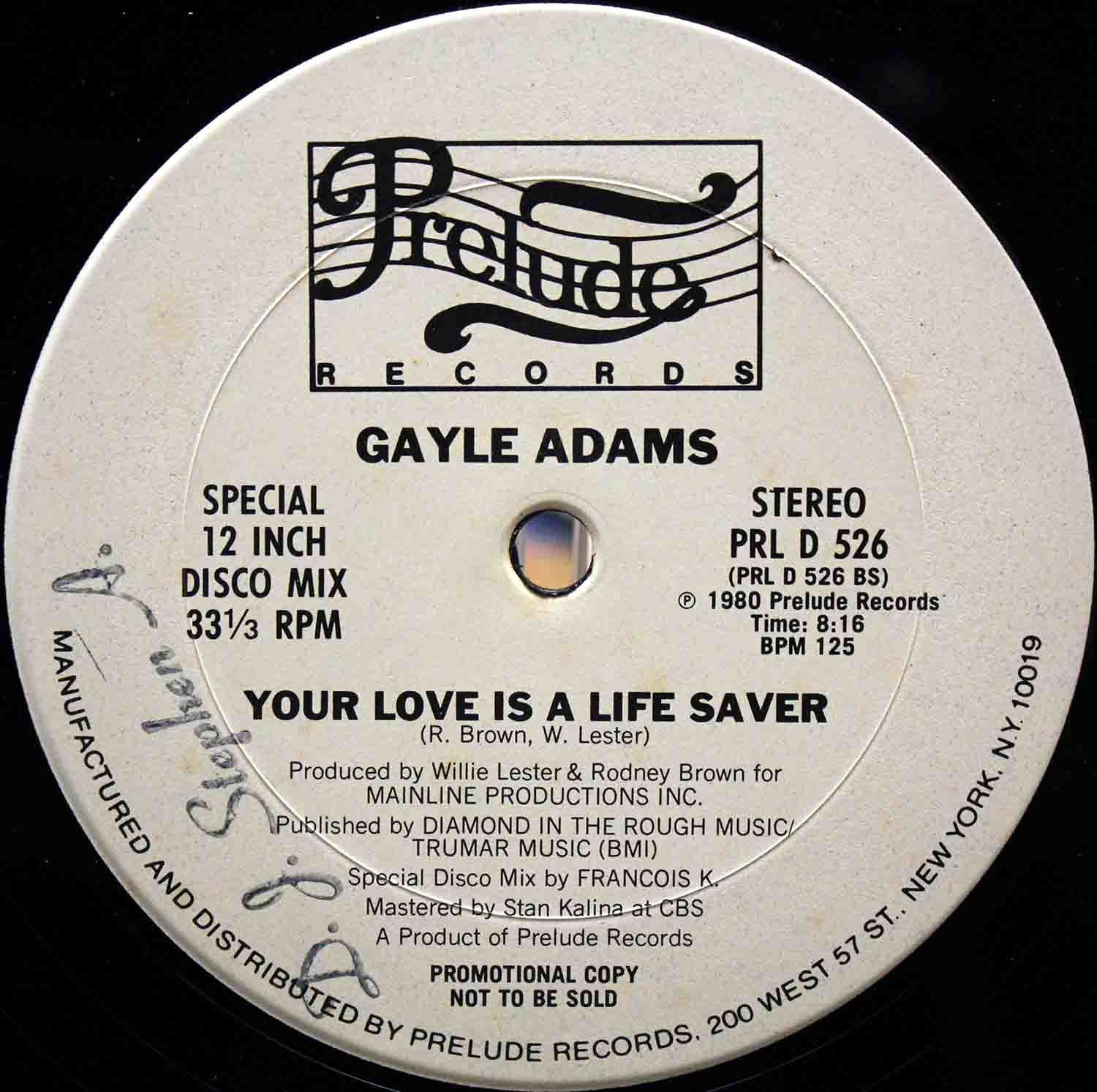 Gayle Adams - Your Love Is A Life Saver 02