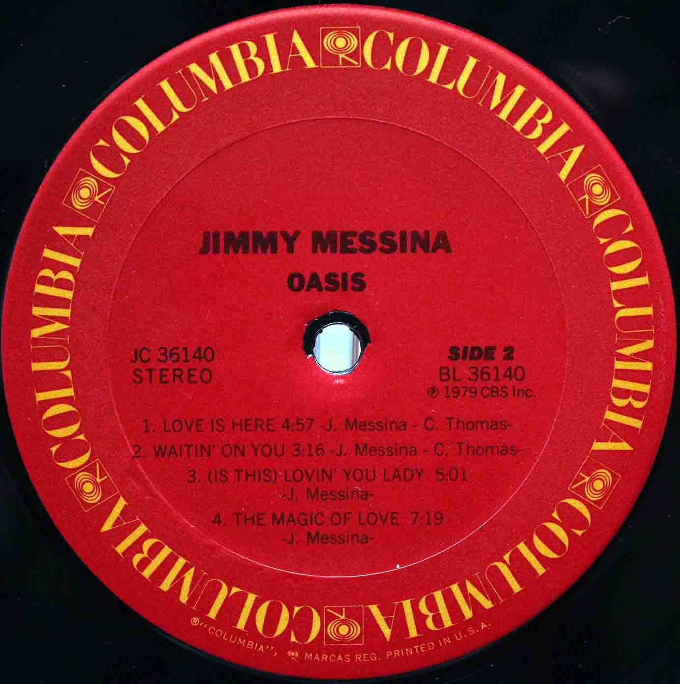 jimmy Messina Oasis 06