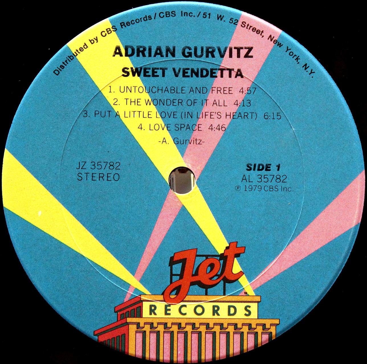 Adrian Gurvitz - Sweet Vendetta 07