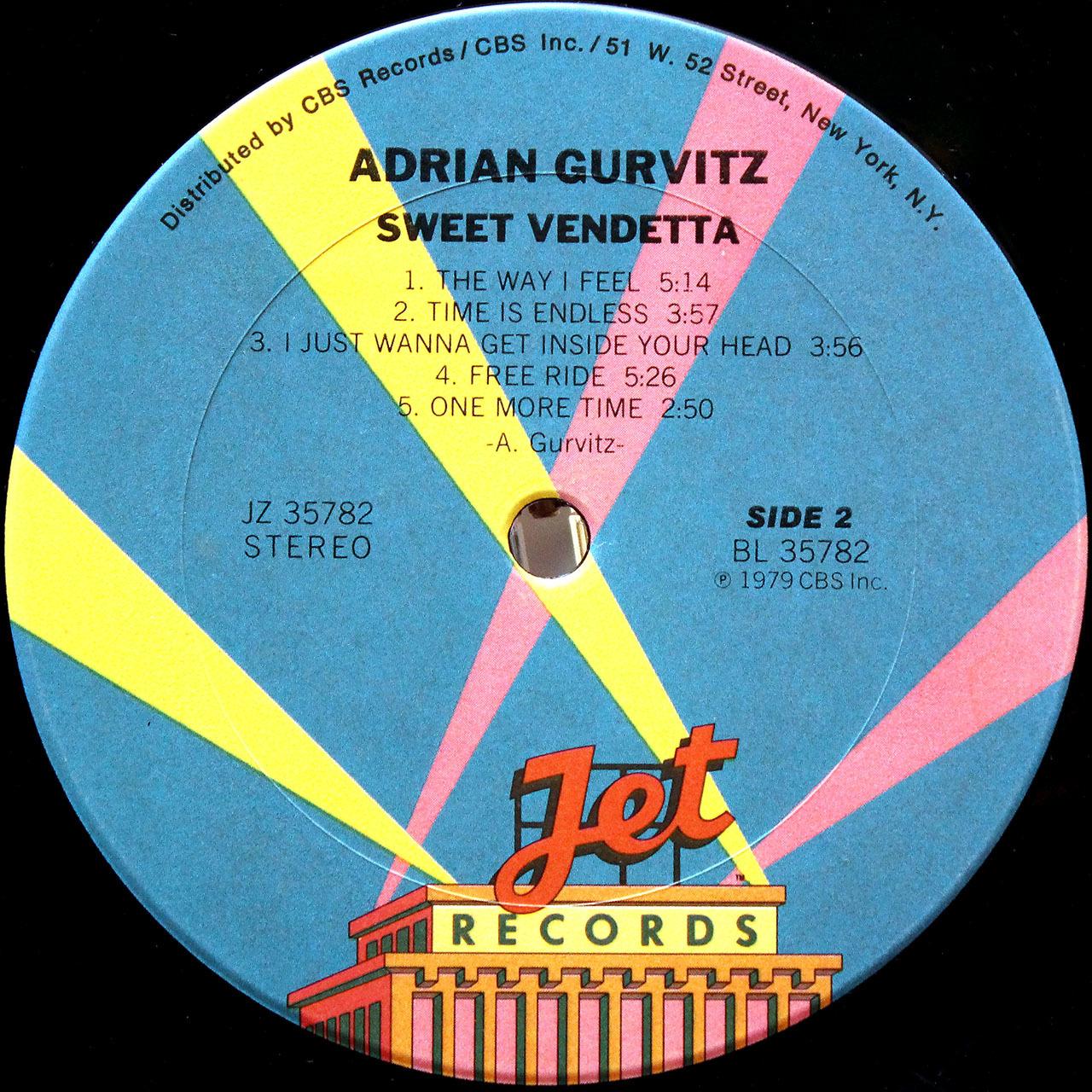 Adrian Gurvitz - Sweet Vendetta 08