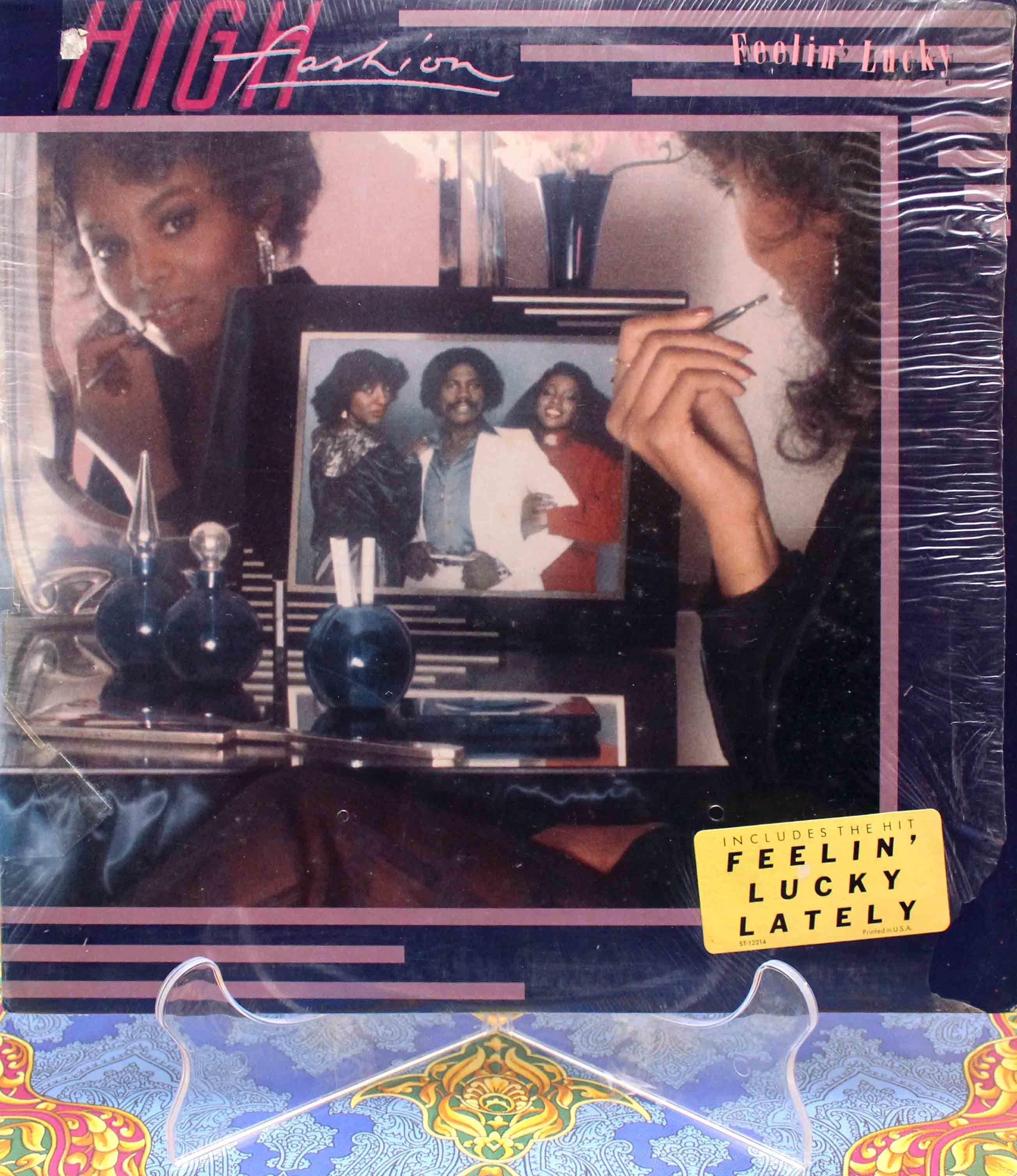 High Fashion (1982) - Feelin Lucky LP 01