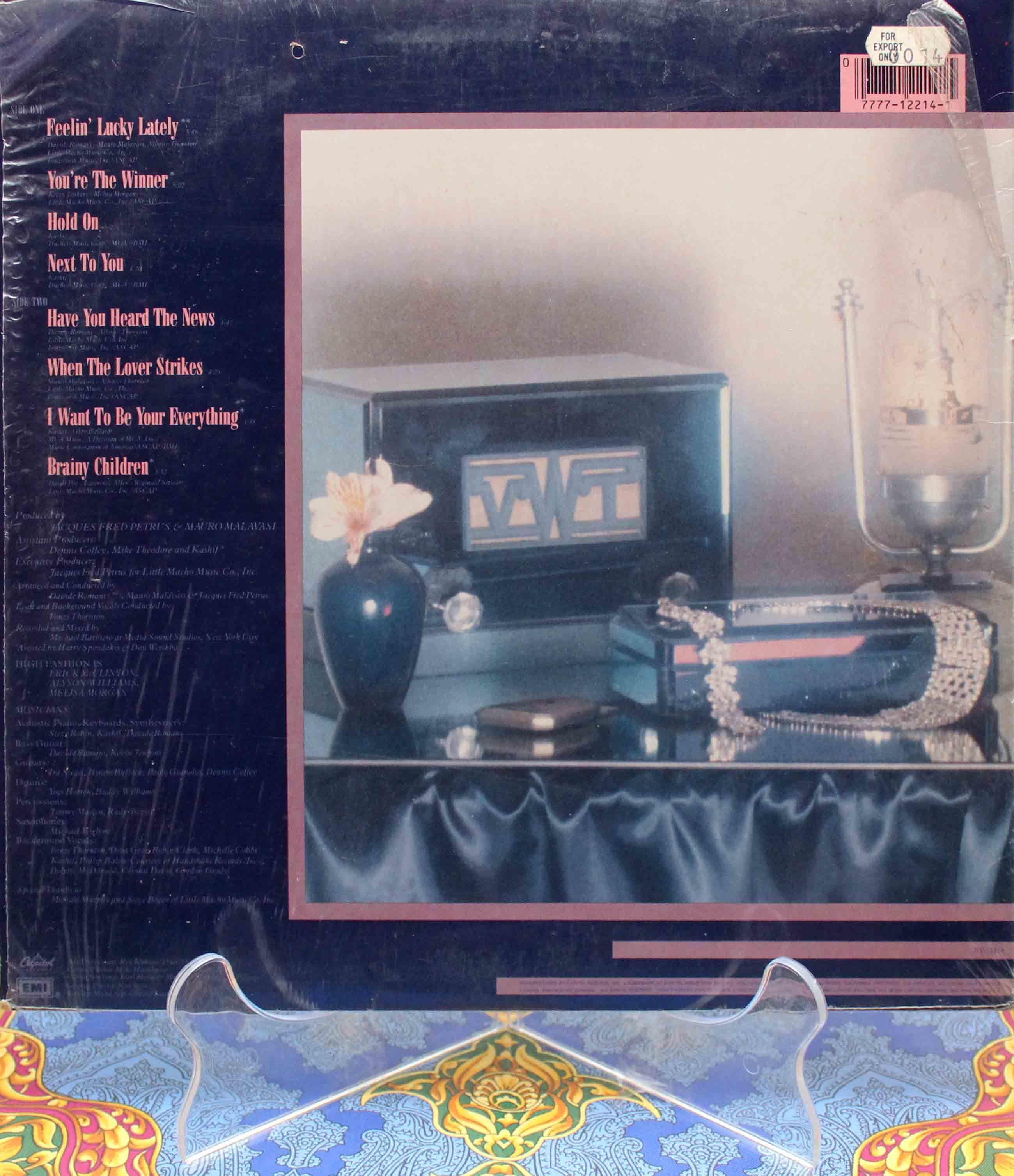 High Fashion (1982) - Feelin Lucky LP 02