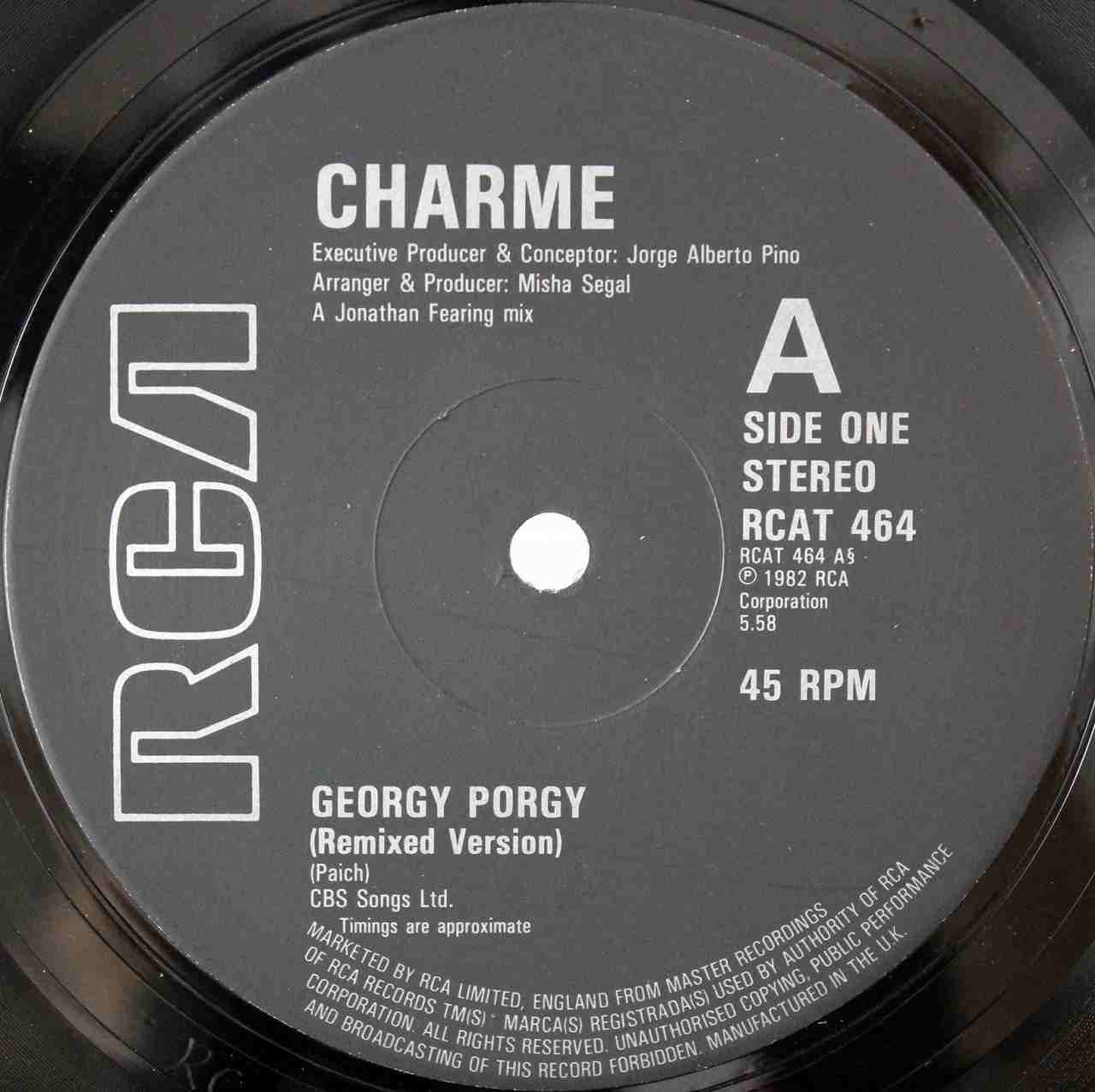 CHARME Feat LUTHER VANDROSS - Georgy Porgy 03