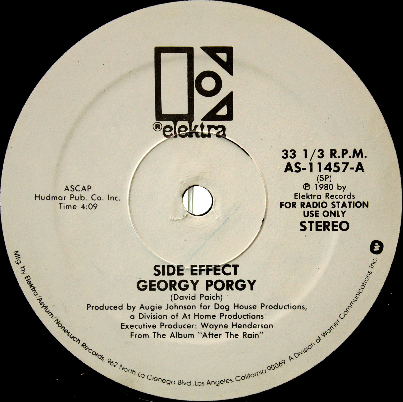 Side Effect ‎– Georgy Porgy 02