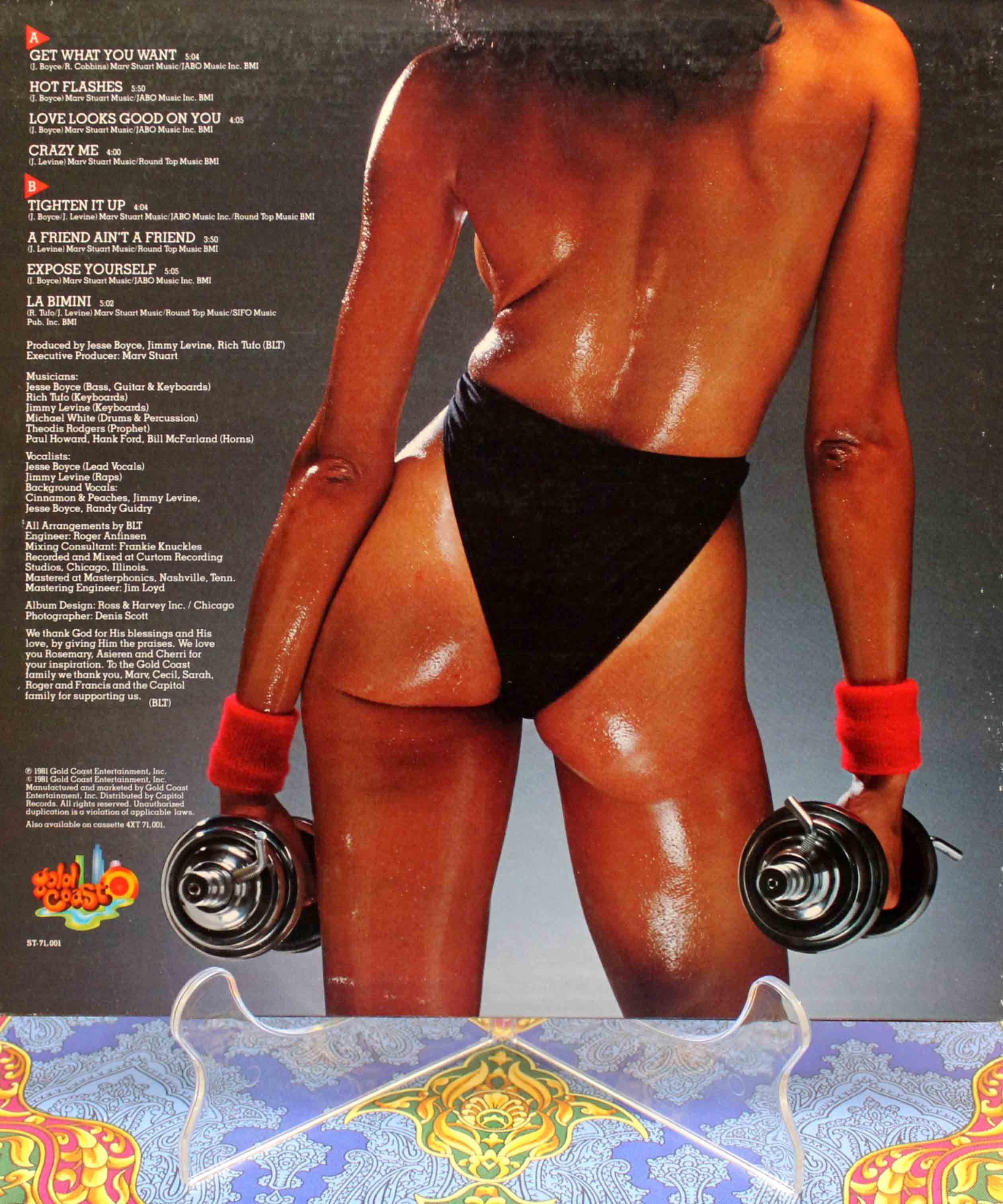 Spunk Tighten It Up LP 02