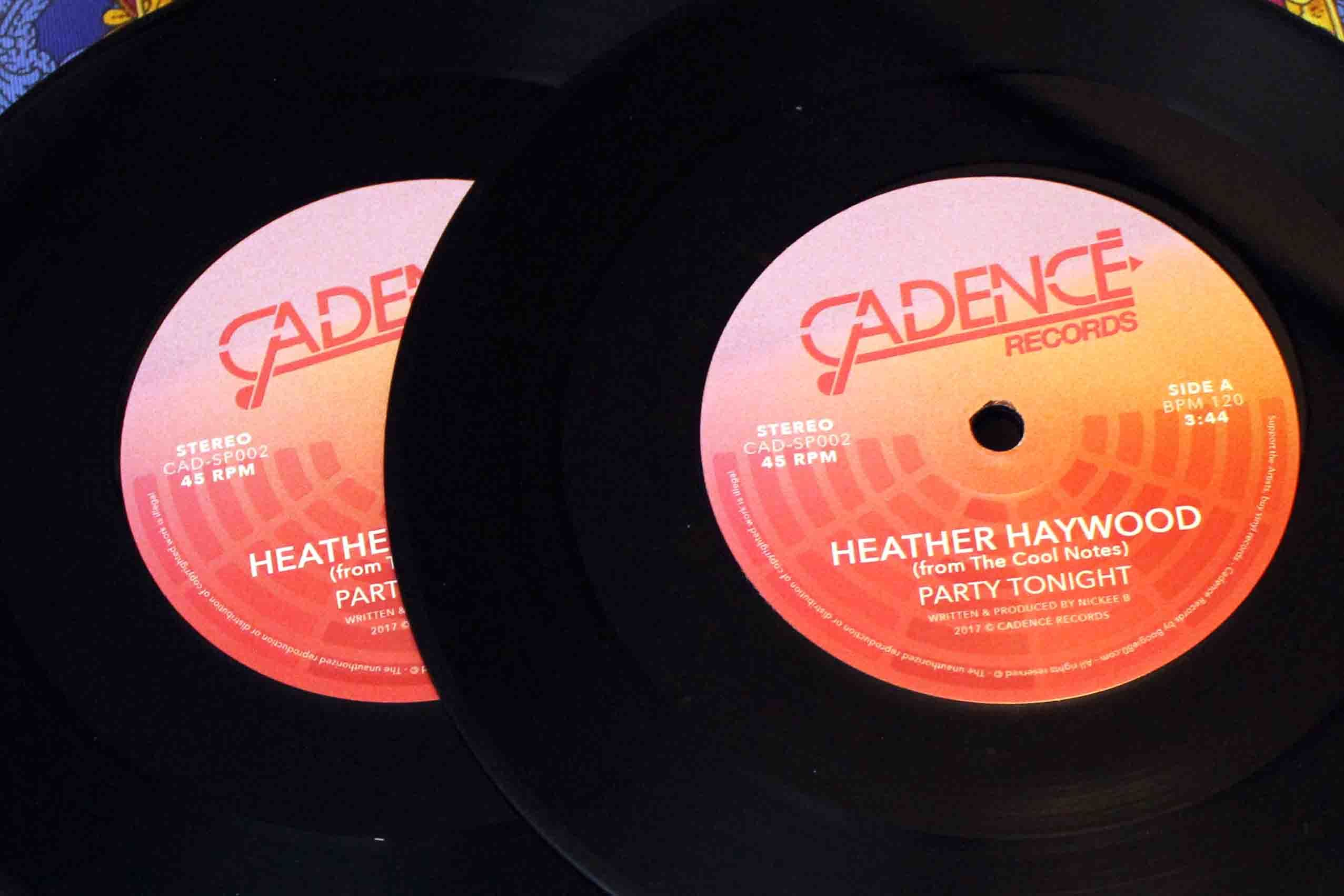 Heather Haywood From The Cool Notes – Party Tonight 0000