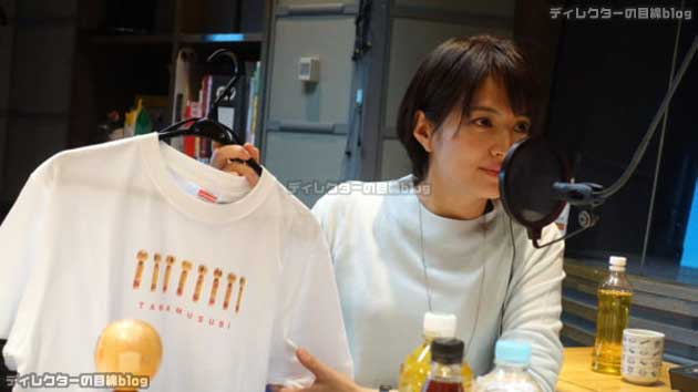 """TBSラジオ「たまむすび」の""""こけしTシャツ""""が届きました!"""