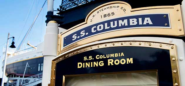 S.S.コロンビア・ダイニングルーム