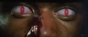 『死亡的遊戯』ハキムの赤い目