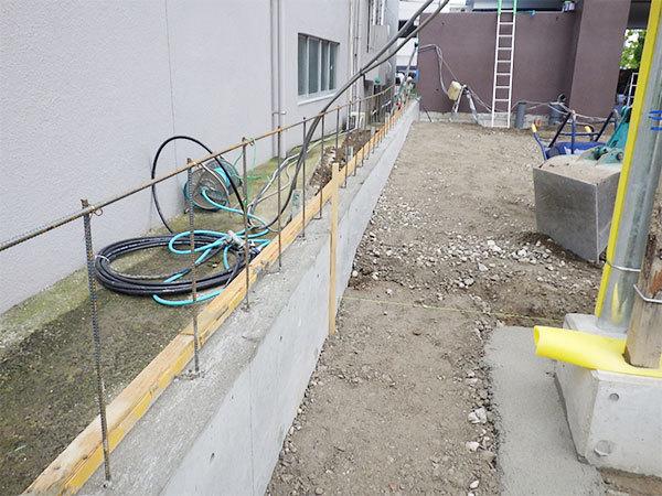 200525外構工事施工状況